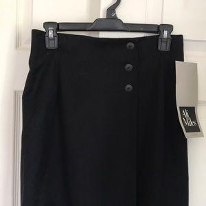⚡️Deadstock vintage⚡️black midi pencil skirt